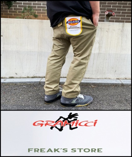 2019 S/S FREAK'S STORE JAPAN X GRAMICCI JAPAN X DICKIES 481 COLLABORATION STRUB PANTS  [International]