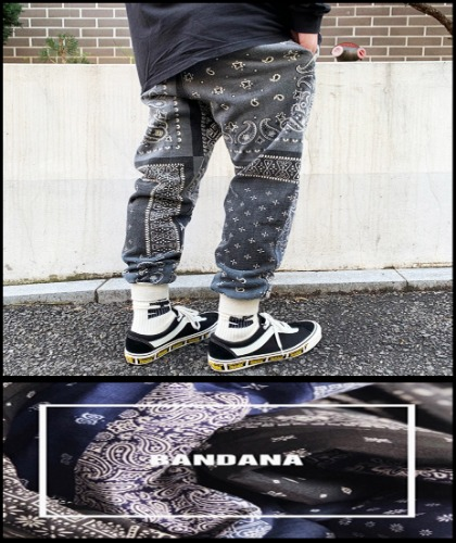 2019 S/S KAPITAL JAPAN BANDANA TONA PANTS  [International]