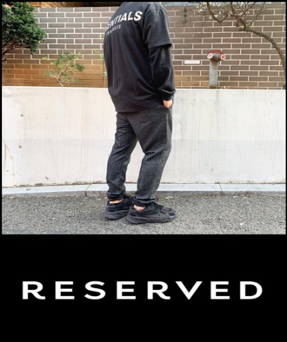 2020 S/S RESERVED LONDON JOGG SLEX ★SALE★  [International]