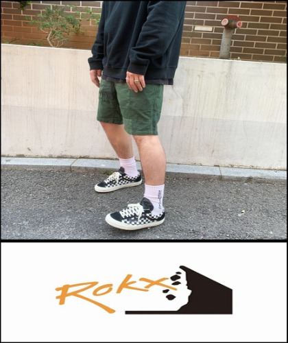 2019 S/S ROKX JAPAN PATCH WORK RAVEN SHORT [International]