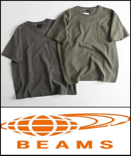 2019 S/S BEAMS JAPAN X NORTHFACE STANDARD VINTAGE ARMY WASH HEAVY COTTON T  [International]