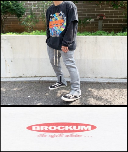 2020 S/S BROCKUM X GIANT GRAPHIC U.S.A 1993 VINTAGE - NIRVANA DEEP DISC - HEAVY COTTON OVER FIT TSHIRT [MADE SHOP H.K]