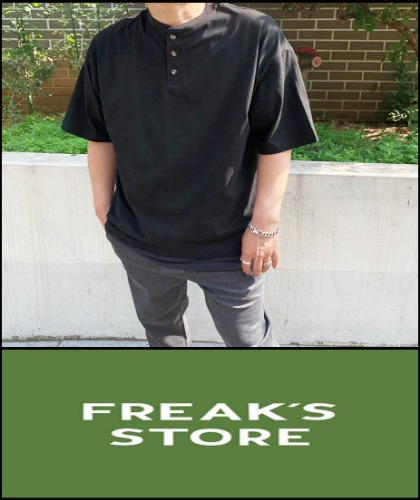 2019 S/S HAVAHANK X FREAK'S STORE JAPAN USA SUMOSA HEAVY COTTON 3 OVER FIT T [International]