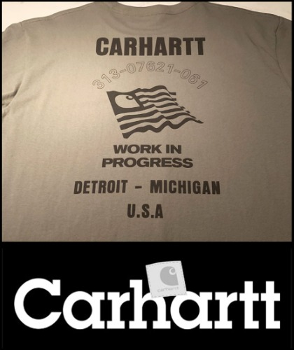 2019 S/S CARHARTT CLASSIC BACK LOGO TSHIRT [International]