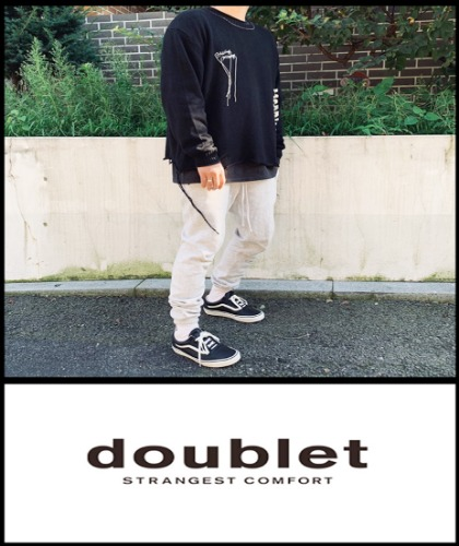 2020 F/W DOUBLET LAPTIN KNIT MADE SHOP 100% [Factory Version]