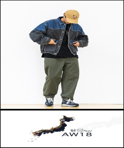 2020 F/W ORSLOW X BEAMS JAPAN  -SEMI OVER MULTI DENIM PATCH - JACKET [International]