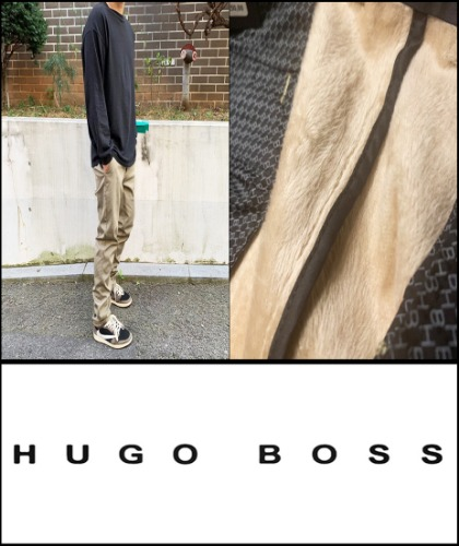 2019 F/W HUGOBOSS HEAVY WINTER CHINO -SLIM PIT- [International]