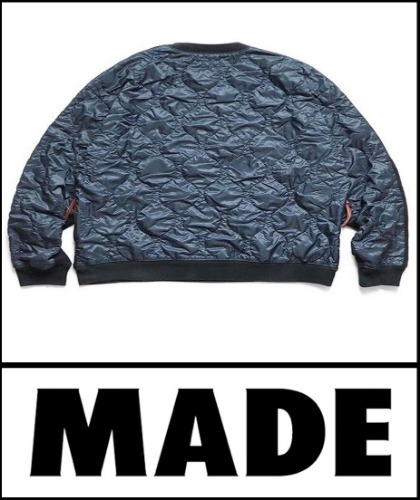 2020 F/W MADESHOP 100% KAPIXX DAMAST VINTAGE PADDING HARD WASH MTM [MADESHOP 100%]