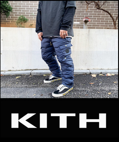2018 [NEW] KITH -TANG- WHITE DUCK DOWN PANTS  [International]