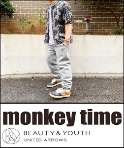 2019 S/S MONKEY TIME JAPAN X KESPA X BEAUTY & YOUTH JAPAN PAISLEY BANDANA SHIRT   [International]