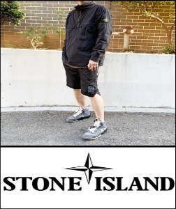 2020 [START] STONE ISXXND MADE SHOP -DIRTY CUSH WASH- ANORAK [Factory Version]