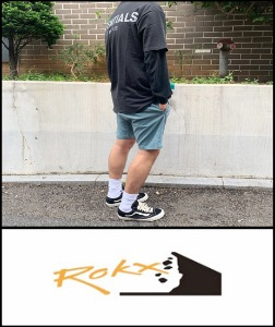 2019 S/S ROXY JAPAN HARD WASH HEAV COTTON SHORT [International]
