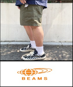 2019 S/S BEAMS JAPAN NYLON 5.5 INCH SYSTEM MULTI POCKET SHORT [International]