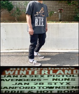 2020 S/S WINTERLAND 1997 VINTAGE - NOTORIOUS BIG -  HEAVY COTTON CRACK OVER FIT TSHIRT [MADE SHOP H.K]