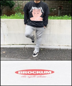 2020 S/S BROKUM VINTAGE 1991 -METALLICA SANDMAN JEORGE BUSH  - HEAVY COTTON OVER FIT TSHIRT [MADE SHOP H.K]