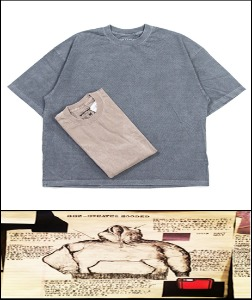 2020 S/S SSZ JAPAN X BEAMS - USA TRIMA HEAVY COTTON- VINTAGE WASH BOX FIT [International]