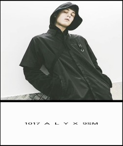 2019 [START] 1017 ALxx 9 SM MADE SHOP 100% SILK NYLON TOY JACKET SHIRT [Factory Version]