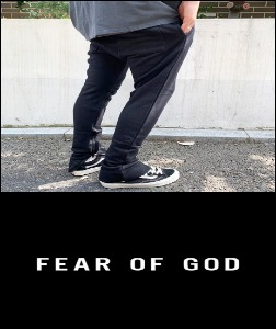 2019 [START] FEAR XX GOD FIFTH COLLECTION MADE SHOP 100% 스트링팬츠 [Factory Version]