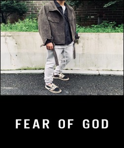2019 [START] FEAR XX GOD COLLECTION MADE SHOP 100% 소가죽 스웨이드 자켓 [Factory Version]