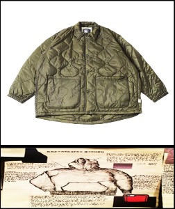 2019 F/W SSZ JAPAN X BEAMS -SEMI OVER FIT - QUILTED JACKET [International]