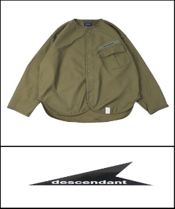 2021 S/S DESCENDANT JAPAN CYCLE M42 SEMI OVER JACKET  [International]