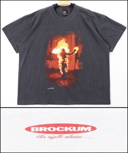 2021 S/S GIANT x BROCKUM U.S.A 1991 VINTAGE - RAMMSTEIN TOUR T  X  GUN N ROSES CIVIL WAR T - HEAVY COTTON OVER FIT TSHIRT [MADE SHOP H.K]
