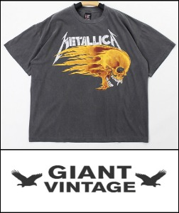 2021 S/S GIANT U.S.A 1994 VINTAGE - METALLCIA SUMMER TOUR - HEAVY COTTON OVER FIT TSHIRT [MADE SHOP H.K]