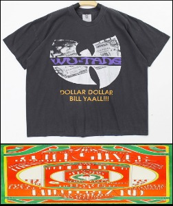 2021 S/S WINTERLAND - WU TANG CLAN - TOUR VINTAGE HEAVY COTTON OVER FIT TSHIRT [MADE SHOP H.K]