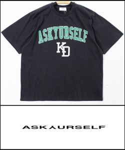 2021 S/S ASKYURSELF VINTAGE HEAVY COTTON OVER FIT TSHIRT [MADE SHOP H.K]