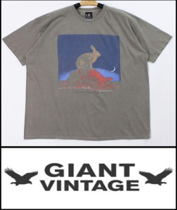 2021 S/S GIANT U.S.A 1994 VINTAGE - JOHN MAYER X RUSH COUNTERPARTS - HEAVY COTTON OVER FIT BACK LOGO TSHIRT [MADE SHOP H.K]