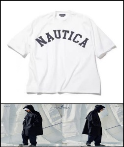 2020 S/S NAUTICA -JAPAN EXCLUSIVE- 1991s RETRO CLASSIC OVER FIT HEAVY WEIGHT  TSHIRT [International]