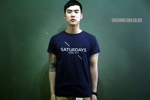 SATURDAY SURF NY - BEAMS X SATURDAY -SPECIAL TEE[International]