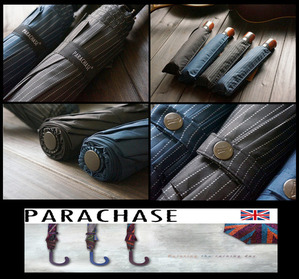 PARACHASE LONDON - GENTLE EVAN-SHORT AUTOMATIC  UMBRELLA  전자동 ★WTF BLACK FRIDAY SALE★ [International]