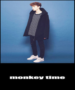 2019 [START] MONKEY TIME X KESPA JAPAN  SHEEP FUX BOX DUMBLE HOODED COAT JACKET   [International]